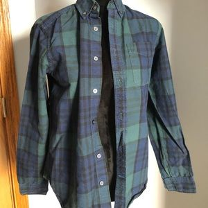 Other - Boys Green, Blue and Black Flannel